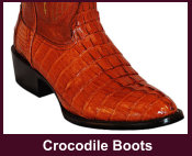 Exotic Crocodile Western Boots