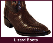 Exotic Lizard Western Boots