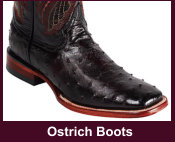 Exotic Ostrich Western Boots