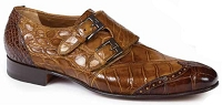 Mauri Masolino Body Alligator Hand Painted 1010 Burnished Brandy/Sport Rust