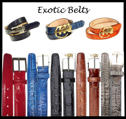 Exotic Belt Collection