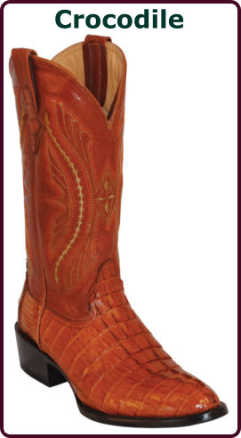 Crocodile Cowboy Boots | Exotic Crocodile