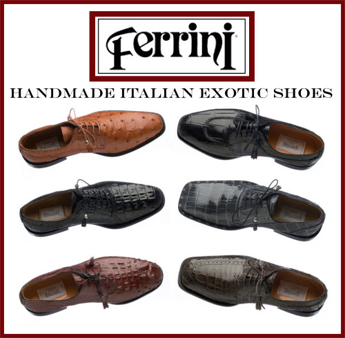 Ferrini Exotic Shoe Collection