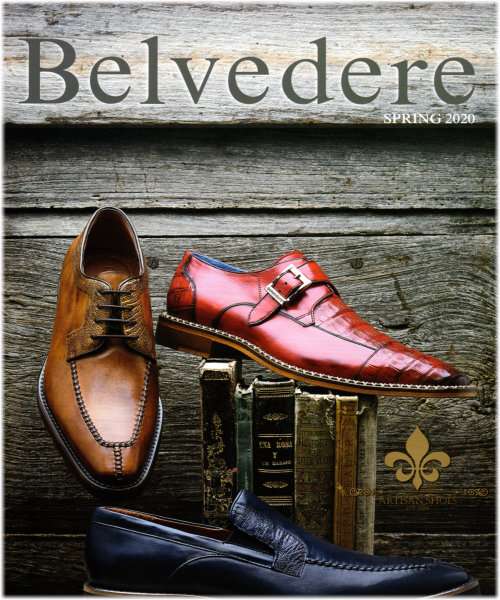 Belvedere Men's Exotic Shoe Collection