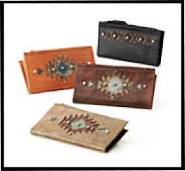American West Folded Wallet Collection