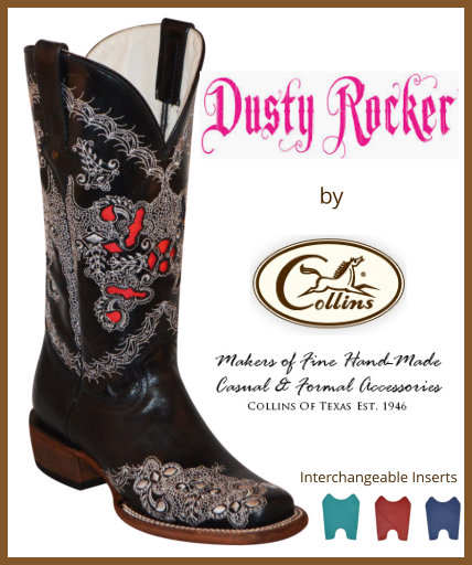 Dusty Rocker Boots<br>by Collins of Texas