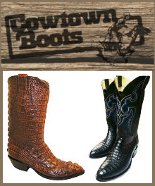 CowTown Exotic Western Cowboy Boots