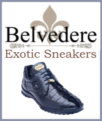 Belvedere Exotic Sneaker Collection