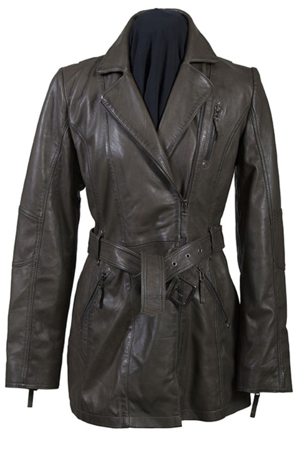 Scully Leather Washed Lamb Coat
