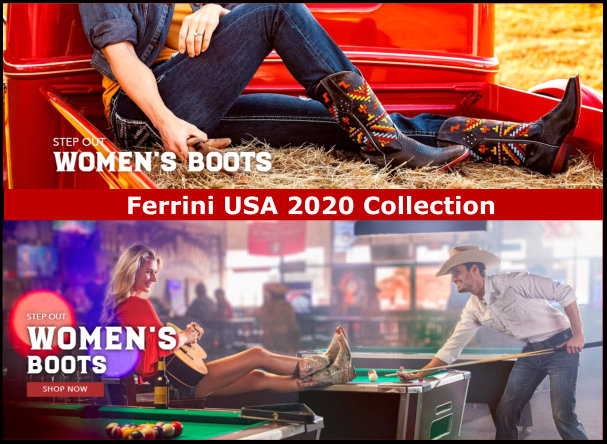 Ferrini Ladies Western Boots