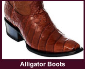 Exotic Alligator Western Boots