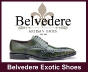 Belvedere Exotic Shoes