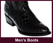 Exotic Mens Western Boots