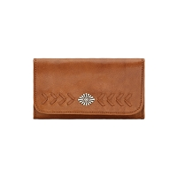 Mohave Canyon Collection Wallet - Golden Tan