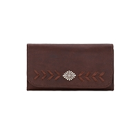 Mohave Canyon Collection Wallet - Chestnut Brown
