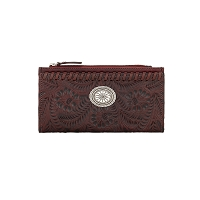 Folded Wallet 7870318 - Distressed Crimson