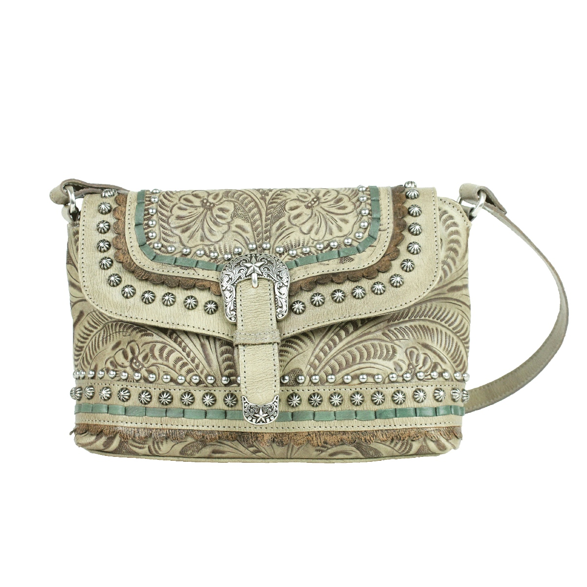 American West Blue Ridge Flap Crossbody Bag in Multiple Colors