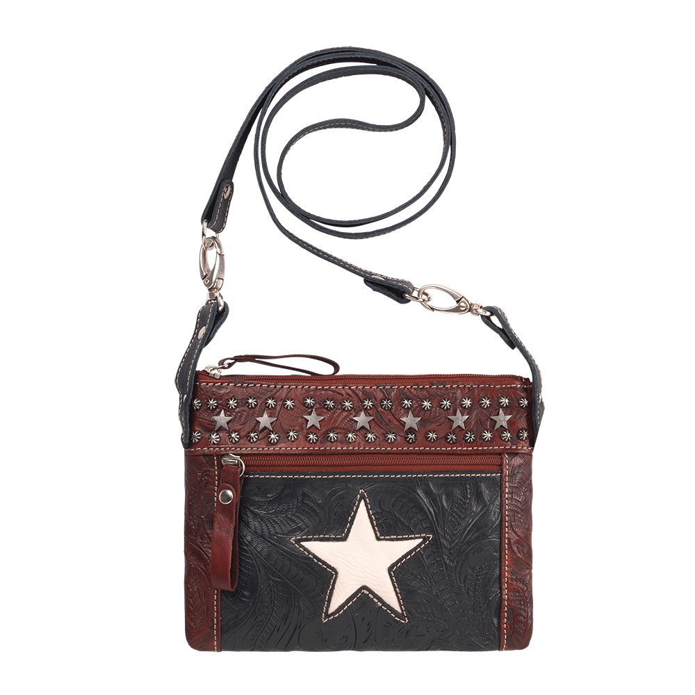 American West Trail Rider Crossbody / Hip Bag Collection in Multiple Colors
