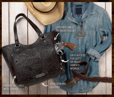 Handmade American West Leather Purses