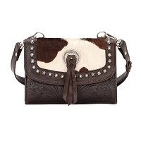 American West Texas Two-Step Small Crossbody Bag/Wallet Collection - Multiple Colors