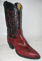 Woman's Handmade Python Height 13