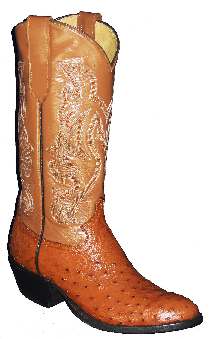 CowTown Ostrich Full Quill Height 13