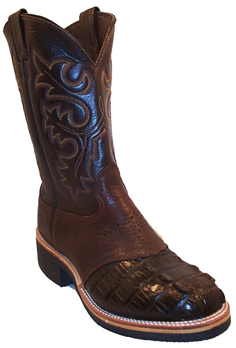 CowTown Alligator Crepe Sole Roper Height 10