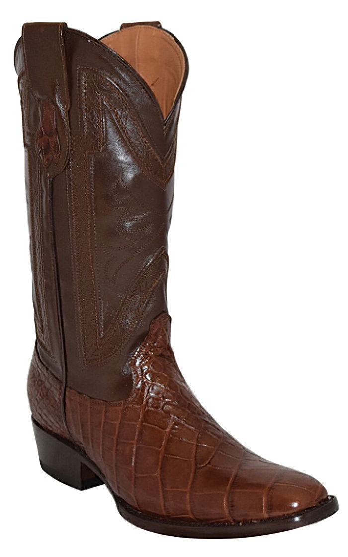 Ferrini Stallion Belly Alligator FR-Toe> 13