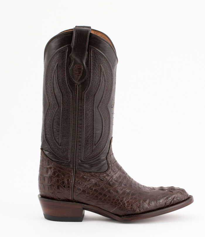 Ferrini Caiman Crocodile Round Toe 13
