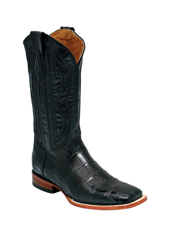 Ferrini Stallion Belly Alligator S-Toe 13