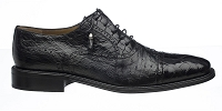 Ferrini Belly Alligator / FQ Ostrich Dress Shoe