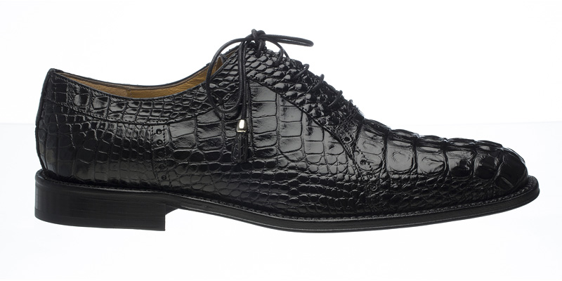 Ferrini Hornback Alligator Classic Dress Shoe