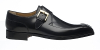 Ferrini French Calf Monk Strap Square Toe Dress Shoe
