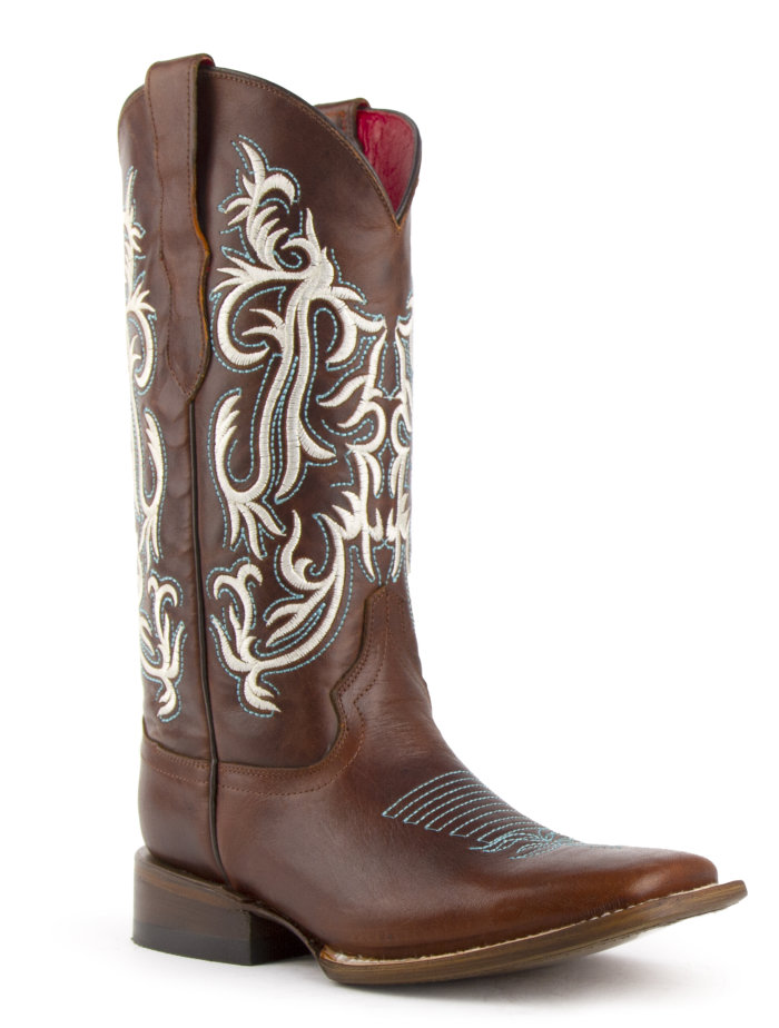 Ferrini Ladies Roan Brown S-Toe