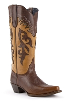 Ferrini Ladies Legend Brown V-Toe