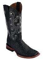 Ferrini Ladies Stampede Black S-Toe