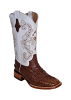 Ferrini Ladies Rancher Chocolate/White S-Toe