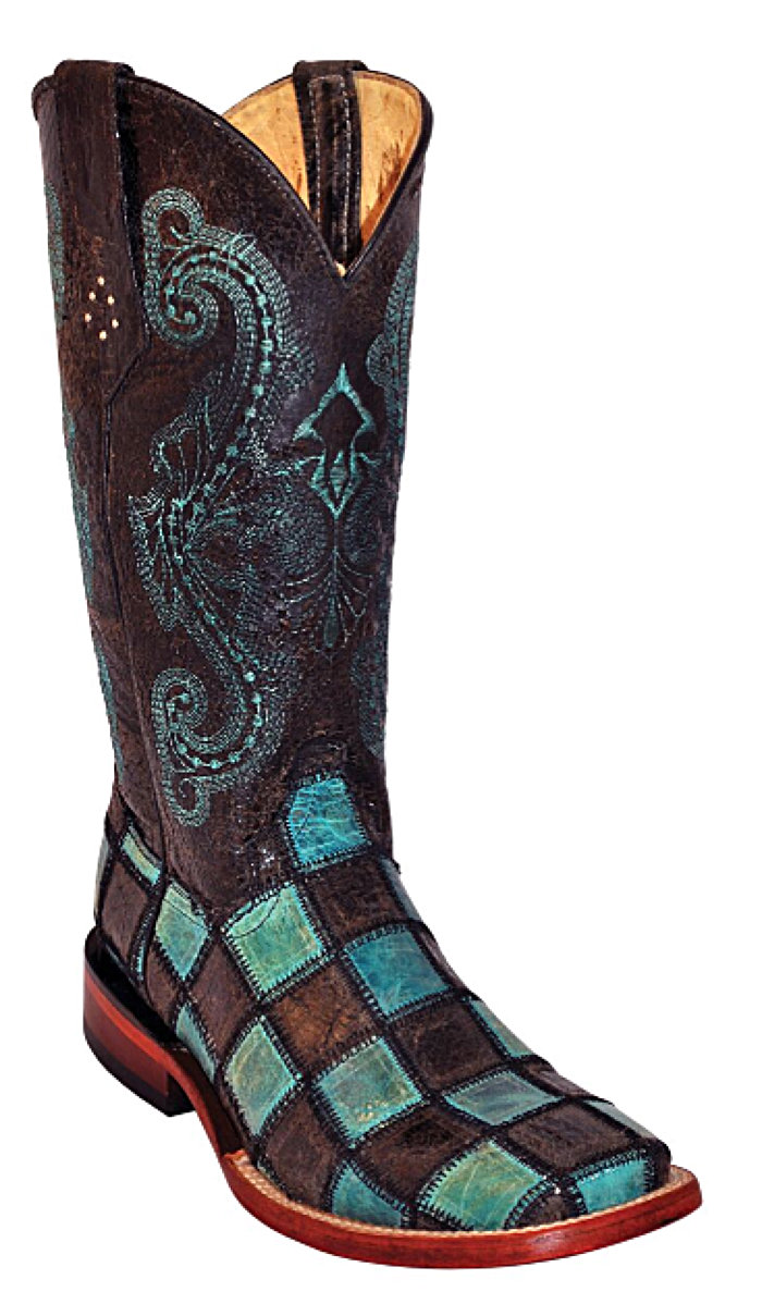 Ferrini Women's Patchwork S-Toe> 12