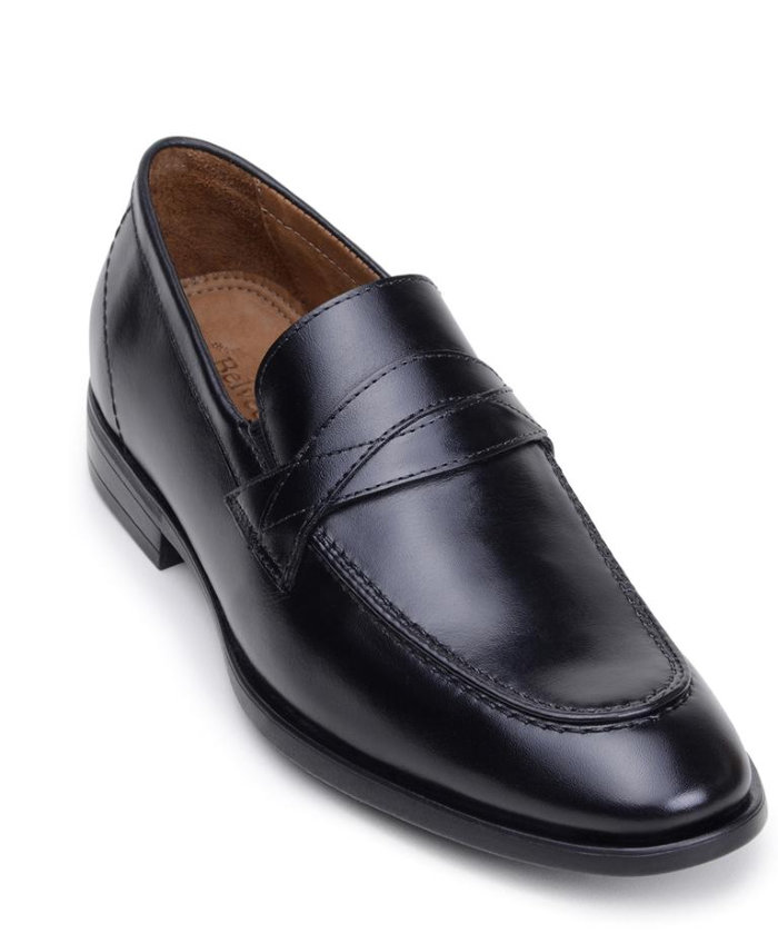 Belvedere Joseph Black & Honey Soft Italian Nappa Leather Shoes