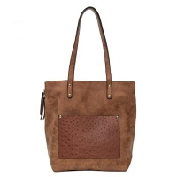 Liz Soto 3269 Reversible Two in One Tote in 3-Colors