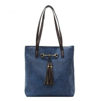 Liz Soto 3272 Two in one Horse Bit Tote Handbag in 5-Colors