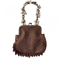 Liz Soto 3280 Small Ruffled Handbag 3-Colors