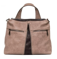 Liz Soto 3289 Taupe Backpack or Crossbody