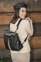 Liz Soto 3289 Kate Backpack or Cross Body