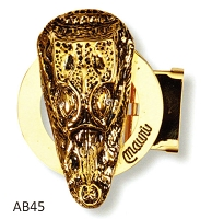 Mauri - AB45 Gator Head Buckle - Silver or Gold