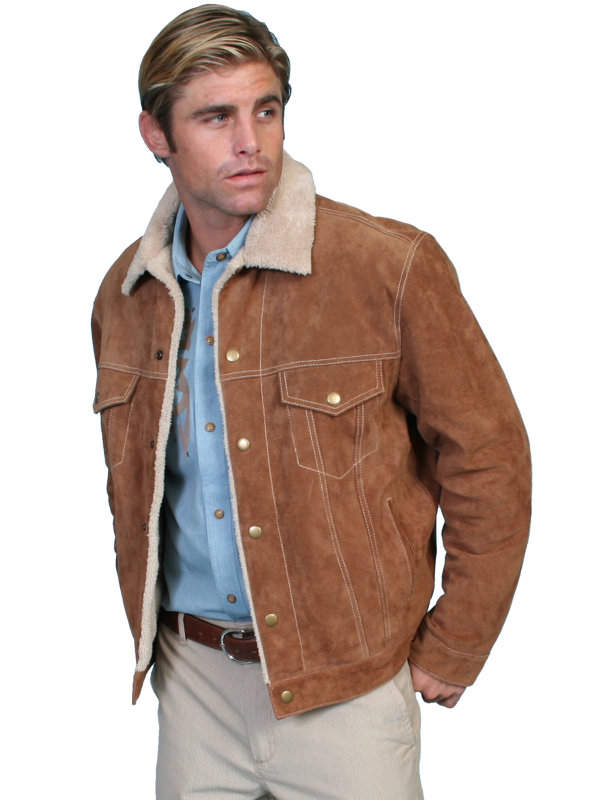 Scully Leather Boar Suede Jean Jacket in 3-Colors