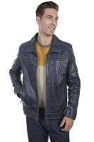 Scully Denim Lamb Jacket