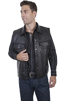 Scully Western Black / Soft Touch Lamb Jacket