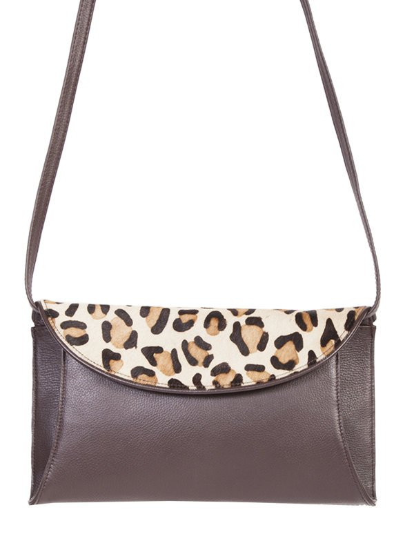 Scully Western Pebbled Leather Handbag