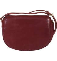 Scully Leather Full Flap Handbag VEG-CALF HIDESIGN